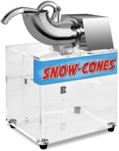 Costzon Ice Shaver, Stainless Steel Electric Crusher, Snow Cone Machinereviews and user guide