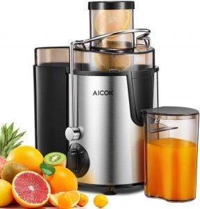 Juicer Aicok Juicers Whole Fruit and Vegetablereviews