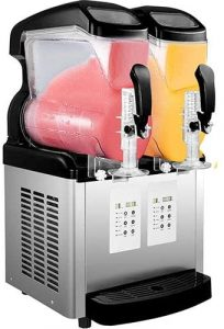 VBENLEM 110V 2 in 1 Commercial Slushy Machine