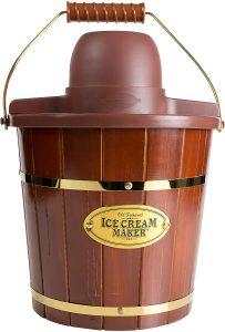 Nostalgia Electric Bucket Ice Cream Maker and Frozen yogurt maker