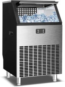 BOOSSIN Commercial Ice Maker Machine