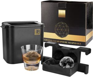 Crystal Clear Ice Ball Maker by MLMD Lux