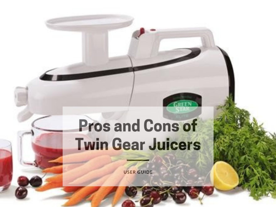 Pros and Cons of Twin Gear Juicers
