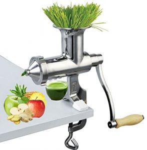Happybuy Wheatgrass Extractor Portable Wheatgrass Juicer reviews and user guide