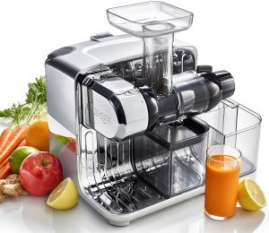 Omega CUBE300S Cube Nutrition Center Juicer reviews and user guide