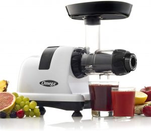 Omega J8006HDS Nutrition Center Quiet Dual-Stage Slow Speed Masticating Juicer reviews and user guide