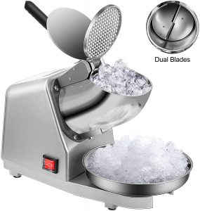 VIVOHOME Electric Dual Blades Ice Crusher Shaverreviews and user guide