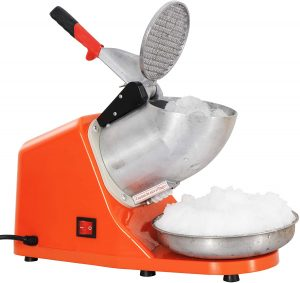 ZENY Ice Shaver Machine Electric Snow Cone Maker Stainless Steel Shaved Ice Machine reviews and user guide