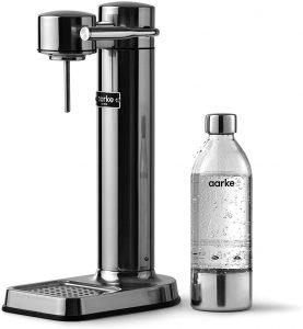 Aarke - Carbonator III Premium Carbonator/Sparkling & Seltzer Water Maker with PET Bottle