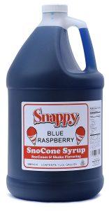 Snappy Blue Raspberry Sno Cone Syrup