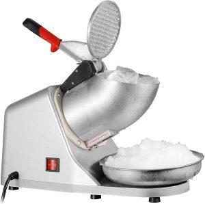 ZENY Ice Shaver Machine Electric Snow Cone Maker