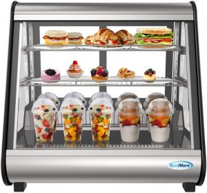 "KoolMore - CDC-4C-BK 27"" Commercial Countertop Refrigerator"